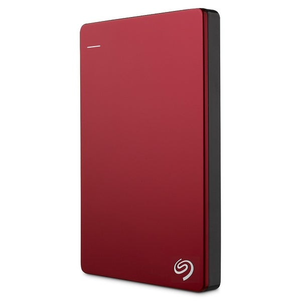 Seagate Stdr1000103 1Tb Backup Plus Slim Portable External Usb 3.0 Hard Drive - Red