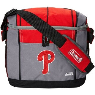 Coleman 24 Can Soft Sided Cooler - Philadelphia Phillies - red/gray