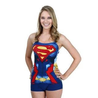 Superman Costume Cami And Short Set