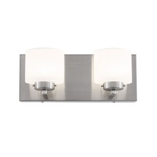 Alternating Current AC1142 Clean 2 Light LED ADA Compliant Bathroom Vanity Light