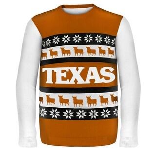 Texas Wordmark NCAA Ugly Sweater