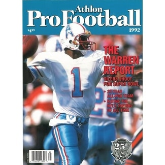 f533f65f905 Shop Warren Moon unsigned Houston Oilers Athlon Sports 1992 NFL Pro  Football Preview Magazine - Free Shipping On Orders Over $45 - Overstock -  20686408