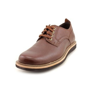 Rockport Eastern Parkway Plain Toe Men Round Toe Leather Brown Oxford