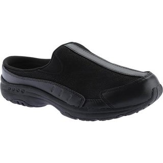 Easy Spirit Women's Traveltime Slip-on New All Black Leather