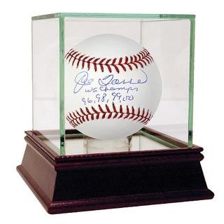 Joe Torre MLB Baseball w WS Champs 96 98 99 00 Insc