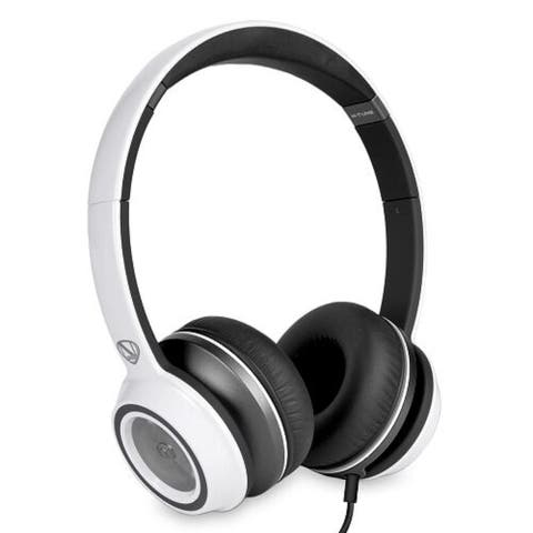 Monster N-Tune High Performance On-Ear Headphones w/3.5mm Plug (Frost White)