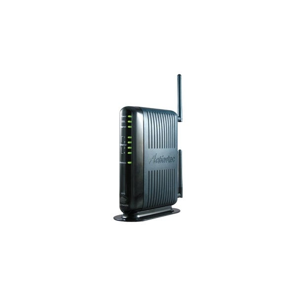 Actiontec GT784WN-NF Actiontec GT784WN DSL Modem/Wireless Router - W/B No Filters - ISM Band - 300 Mbps Wireless Speed - 4 x