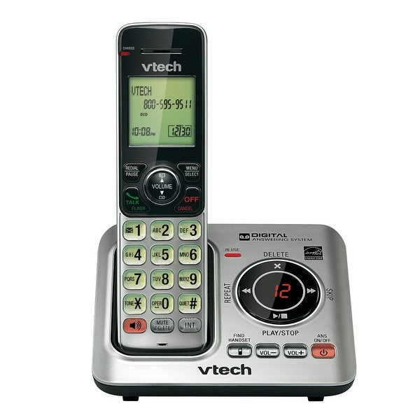 Vtech Cs6629 Cordless Phone With Speakerphone, 50 Name/Number