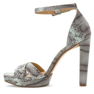MICHAEL Michael Kors Womens Divia Open Toe Special Occasion Ankle Strap Sandals