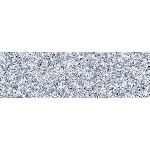 "Brewster TFAB10184 Fablon Granite - 35-7/16"" x 157-1/2"" Self-Adhesive Vinyl Film - Set of (2) - - Gray"