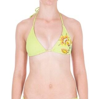 Dippers California Womens Juniors Halter String Bikini Swim Top