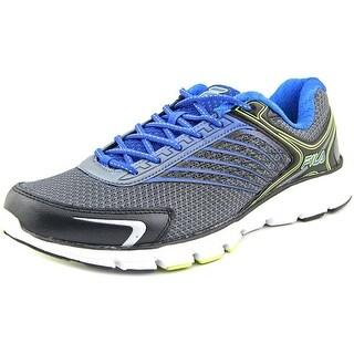Fila Memory Maranello 2 Men Round Toe Synthetic Black Running Shoe