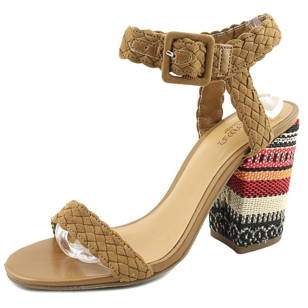 Crown Vintage Cadence Women Open Toe Synthetic Tan Sandals
