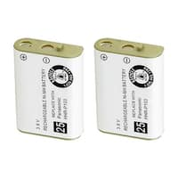 Replacement Battery For AT&T EP5632 Cordless Phones - 00249 (700mAh, 3.6V, Ni-MH) - 2 Pack