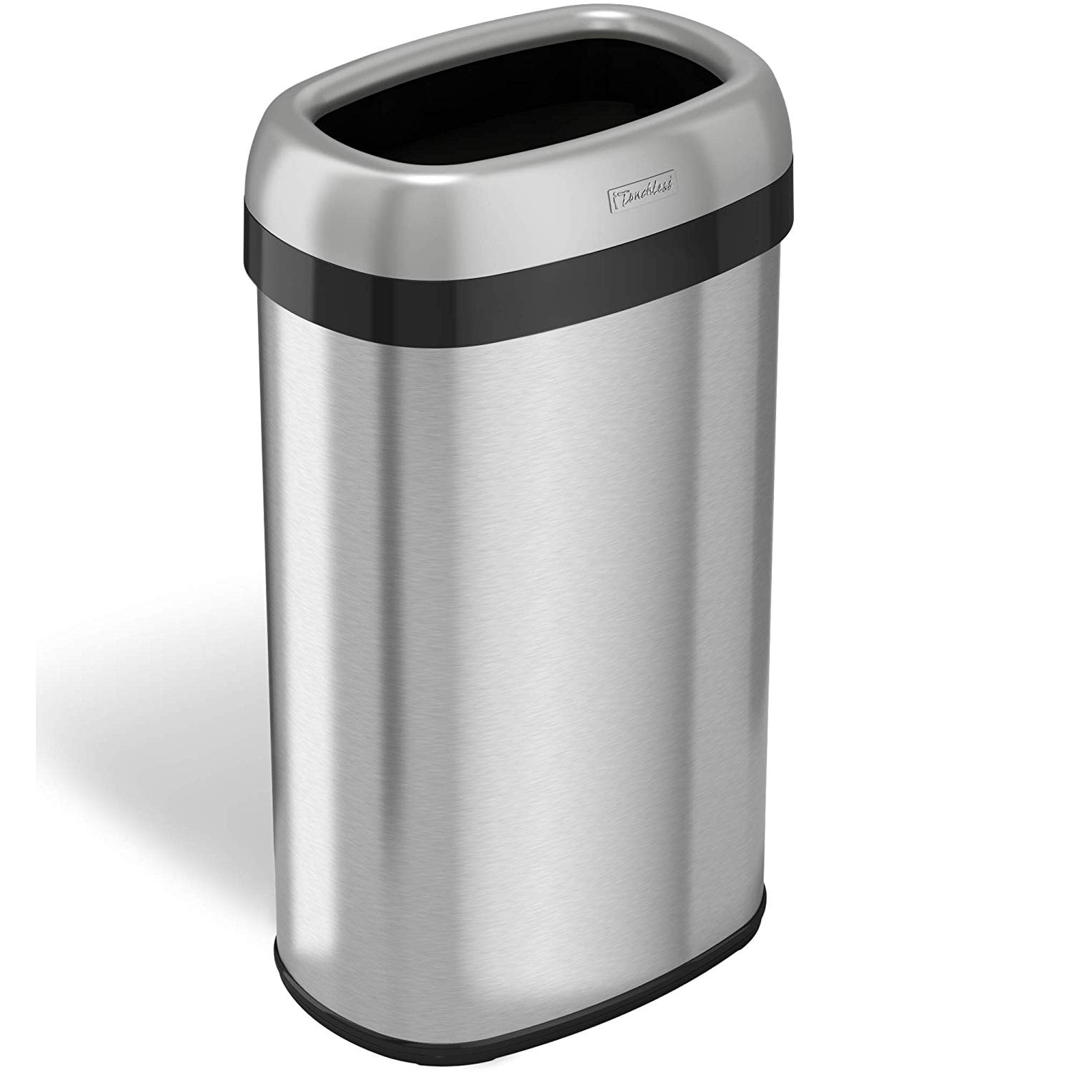 Dual Deodorizer Oval Open Top Trash Can