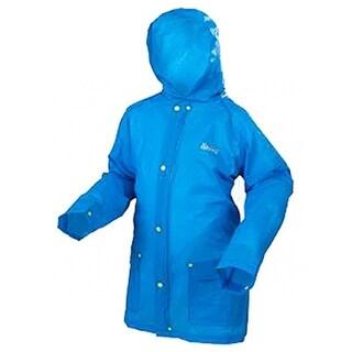 Coleman 2000014629 Youth Rain Jacket, Blue, Small To Medium, 0.15 mm EVA