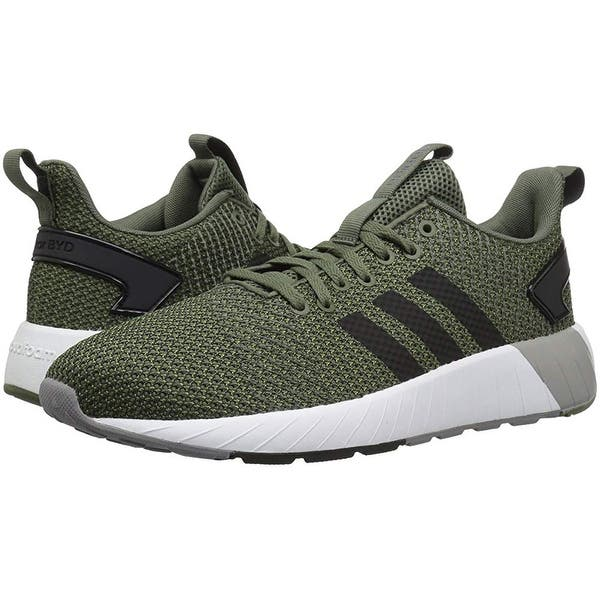 correr Ganar sopa  Shop Adidas Men's Questar Byd Running Shoe, Base Green/Black/Grey, 11.5 M  Us - Overstock - 25367566
