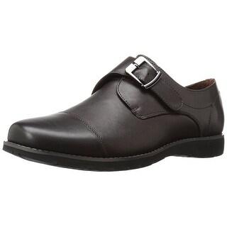 Propét Mens Graham Leather Buckle Dress Oxfords