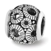 Sterling Silver Reflections Filigree Circles Bead (4mm Diameter Hole)