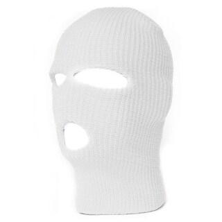 TopHeadwear's 3 Hole Face Ski Mask, White