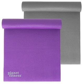 """Planet Fitness Yoga Exercise Mat 68"""" 6mm Thick PVC w/ Microban® Tech Pilates (2 options available)"""