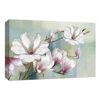 "PTM Images 9-148274  PTM Canvas Collection 8"" x 10"" - ""Magnolia Blooms"" Giclee Magnolias Art Print on Canvas"