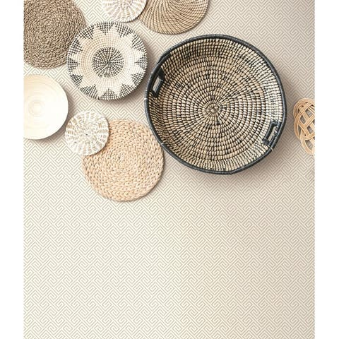 Seabrook Designs Beach Keys Unpasted Wallpaper