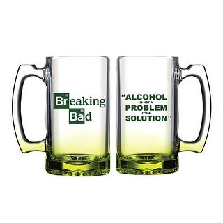 Breaking Bad Alcohol Solution Beer Mug - Multi