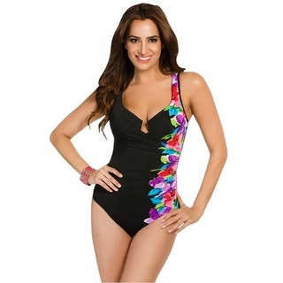 Miraclesuit Brite Side Escape Underwire One Piece Swimsuit - multi
