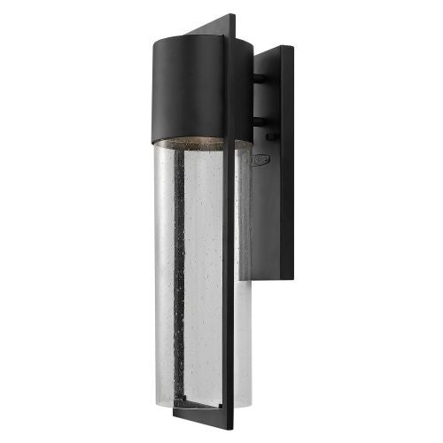 "Hinkley Lighting 1324-GU24 20.5"" Height 1 Light Fluorescent Dark Sky Outdoor Wall Sconce from the Shelter Collection"