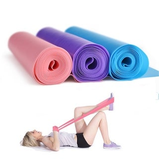 """Potable 59 """" Professional Latex Pilates Yoga Resistance Band for Upper Lower Body Core Exercise Physical Therapy"""