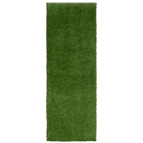 ECARPETGALLERY Faux Grass Nautical & Coastal Rug