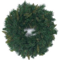 "Mixed Pine Wreath 180 Tips, 24""-"