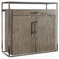 "Hooker Furniture 1600-50001-MWD Curata 44"" Wide Rubberwood Bar Cabinet - mountain modern/nickel - N/A"