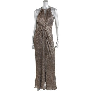 Laundry by Shelli Segal Womens Metallic Prom Evening Dress