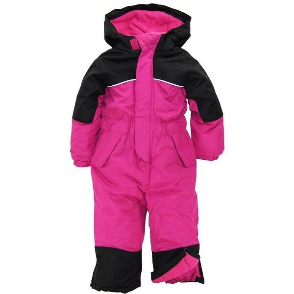 fe3c9034b048 Shop iXtreme Toddler Girls Snowmobile One Piece Winter Snowsuit Ski ...