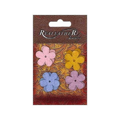 Silver Creek Suede Shape Flowers Brights