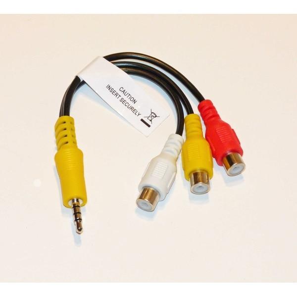 Samsung AV Cable Adapter Audio Video - NOT A Generic! UN46D6000SFXZA
