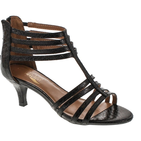 Aerosoles Women's Limeade Dress Sandal - Black Snake