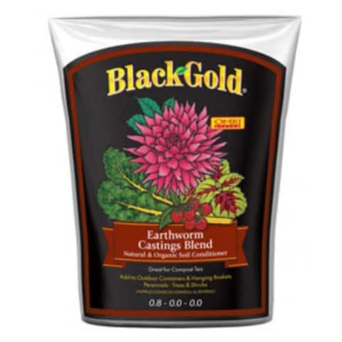 Black Gold 1490302 8QT P Earthworm Castings Blend, 8 Quart