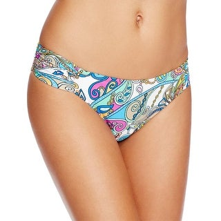 Trina Turk Womens Printed Bikini Swim Bottom Separates