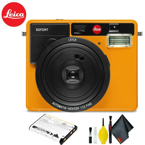 Leica Sofort Instant Film Camera (Orange) Kit