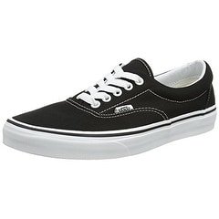 Vans Men's VANS ERA SKATE SHOES 14 (BLACK)