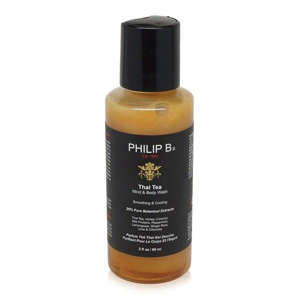 PHILIP B Thai Tea Mind and Body Wash 2 Oz
