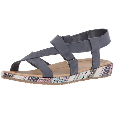 Dr. Scholl's Womens preview Fabric Open Toe Casual Slide Sandals