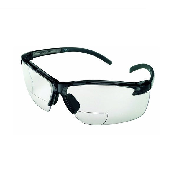 MSA Safety Works 10061648 Bifocal Safety Glasses, 2.0 Diopter