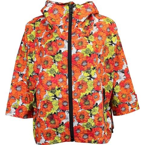 ASICS Flower B-Jacket Womens Coats Jackets Outerwear Casual Jacket