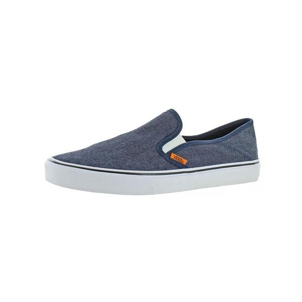super popular clearance sale diversified latest designs Shop Vans Mens Slip-On SF Loafers Denim UltraCush - 10.5 ...