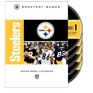 Pittsburgh Steelers Super Bowls [DVD]