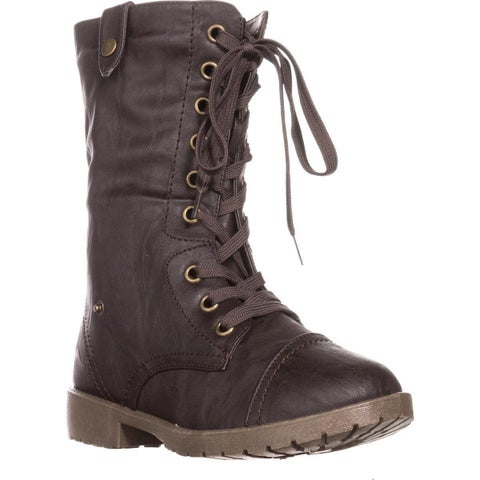 Wanted Colorado Knit Combat Boots, Brown